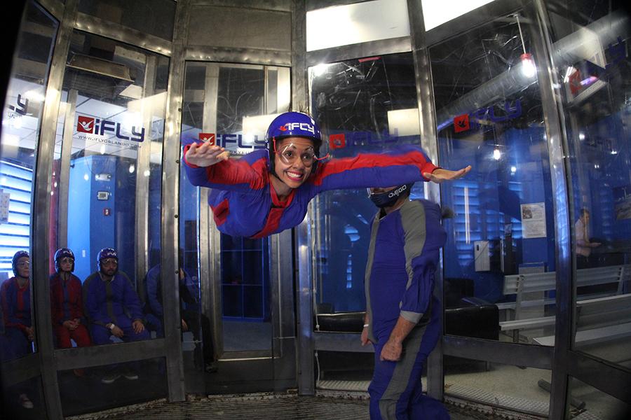 Como É A Experiência de Voar em um Túnel de Vento?
